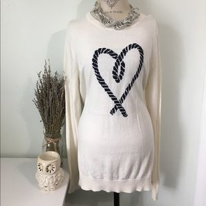 Old Navy Heart Sweater
